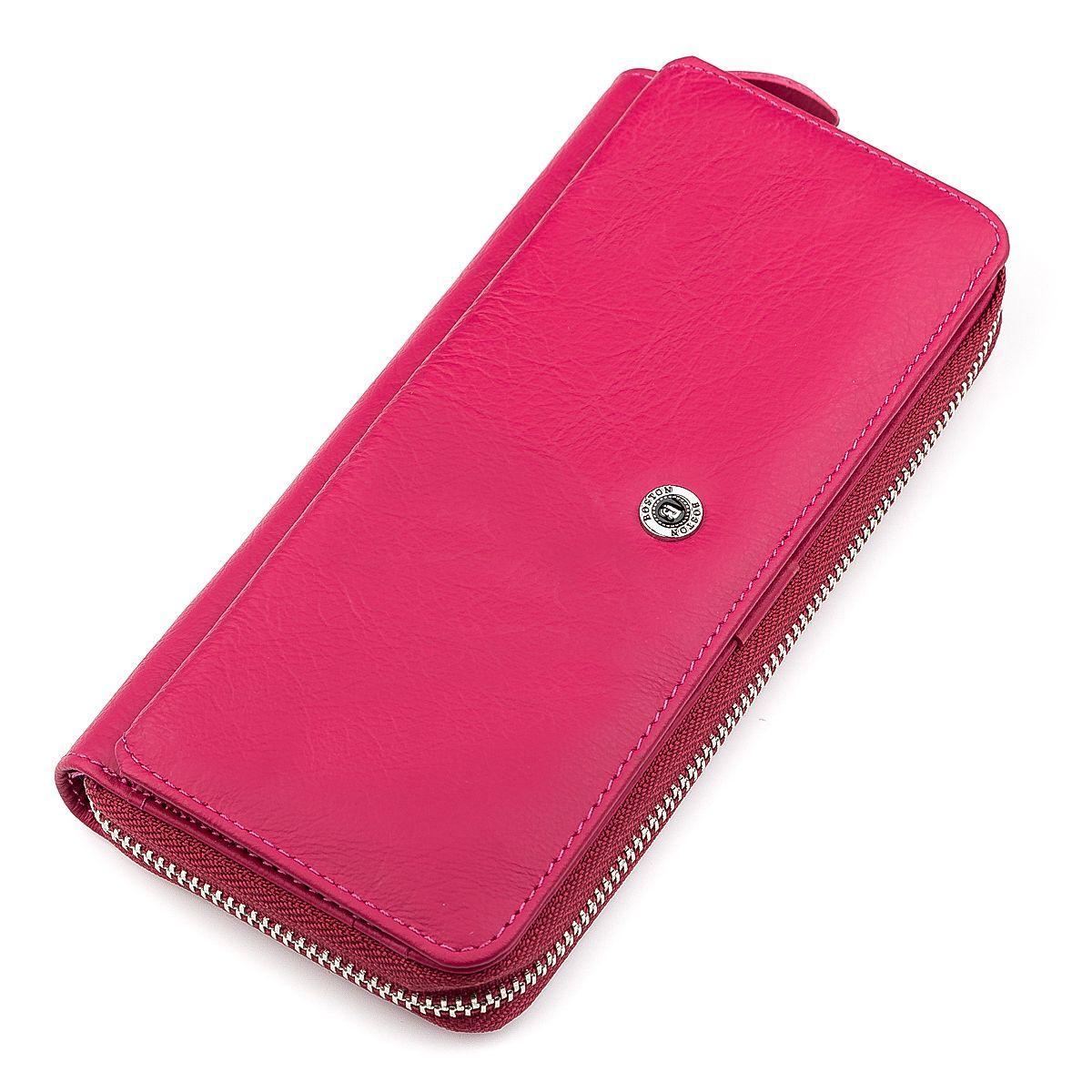 Гаманець Жіночий Boston 18480 (B202) Дуже Ошатний Рожевий, Рожевий