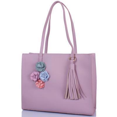 Женская сумка из качественного кожезаменителя  ETERNO (ЭТЕРНО) ETK4372-lila