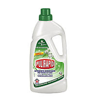 Дезинфецирующее моющее средство с ароматом белого мускуса 1000 мл Pulirapid Casa Muschio Bianco 8002295001559