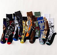 Длинные мужские носки Звёздные войны, фото 4