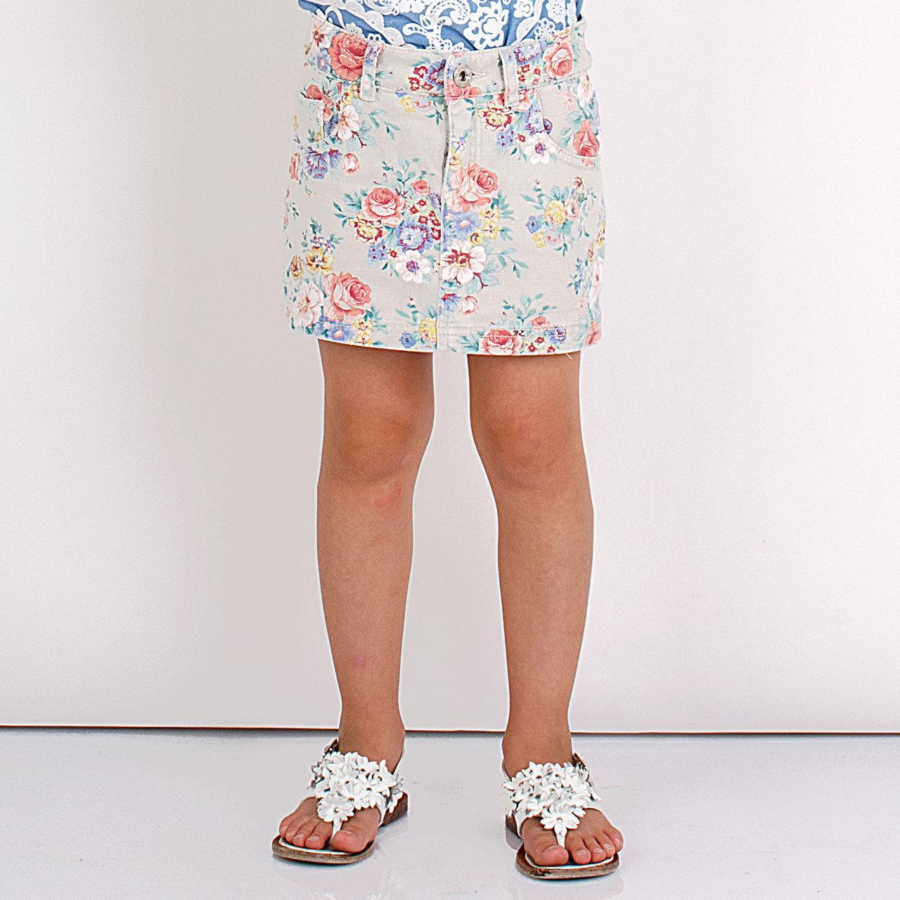 Детские юбки для девочки BRUMS Италия 141BGCA002 Бежевый