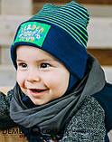 Детская шапка для мальчиков ДИК оптом размер 46-46-48-48, фото 2