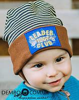 Детская шапка для мальчиков ДИК оптом размер 46-46-48-48