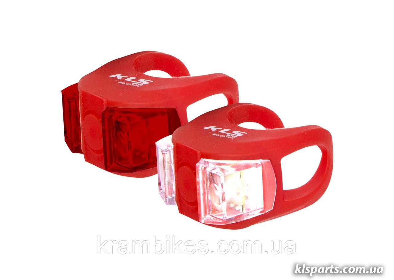 Свет комплект KLS - Twins Set Красный