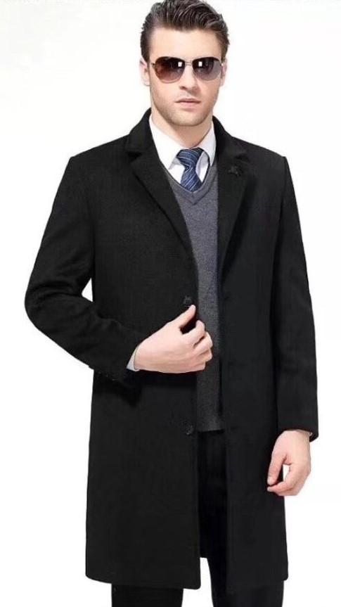 Пальто Burberry 77811 XL Черный (77811)