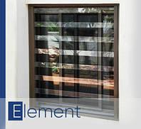 Прозрачные защитные решетки на окна PREMISAVE