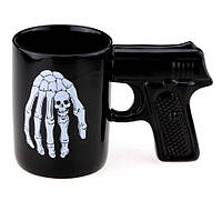 Присутствует деффект Чашка - пистолет Череп, 4 вида