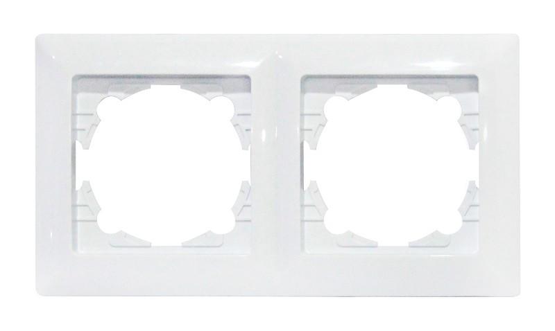 Рамка 2-а біла TINA