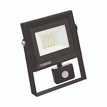"""Прожектор светодиодный с датчиком движения """"PARS/S-20"""" 20W 6400K"""