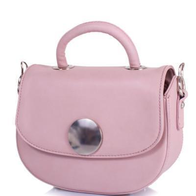 Женская мини-сумка из качественного кожезаменителя  AMELIE GALANTI (АМЕЛИ ГАЛАНТИ) A15012002-pink