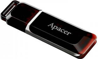 Флеш память USB Apacer USB Flash Apacer AH321 USB 2.0 32GB Black F_63258