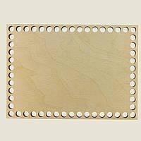 Прямоугольное донышко для вязанных корзин Shasheltoys (100332.125) 125х175 мм