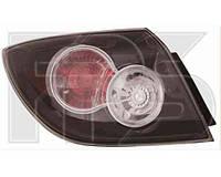 Фонарь задний для Mazda 3 хетчбек '07-09 левый (DEPO) внешний прозрачный