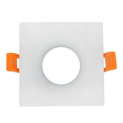 """Светильник точечный белый """"KARANFIL-S"""" квадрат MR16"""
