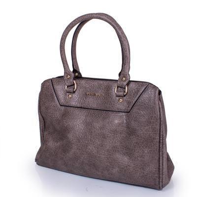 Женская сумка из качественного кожезаменителя  AMELIE GALANTI (АМЕЛИ ГАЛАНТИ) A991367-grey