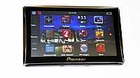 "Автомобильный GPS навигатор  7"" Pioneer G716 -GPS+ 4Ядра+ 8Gb+ Android"