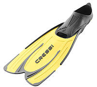 Ласты для бассейна Cressi Sub Agua; жёлтые; размеры 35-36; 37-38; 39-40