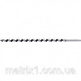 Свердло по дереву шнекове, 16 х 460 мм, 6-гранний хвостовик// MTX