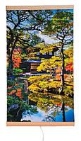Обогреватель-картина инфракрасный настенный ТРИО 400W 100 х 57 см, сад Киото