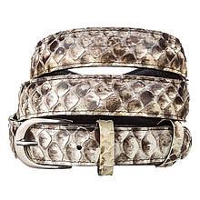 Ремень Женский Snake Leather 18189 Из Натуральной Кожи Питона Разноцветный, Разноцветный