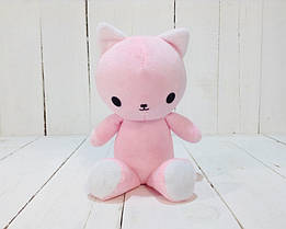 Мягкая игрушка Strekoza котенок Малыш Айси 21см розовый