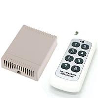 Восьми-канальный (8) универсальный дистанционный выключатель на 12 Вольт