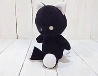 Мягкая игрушка Strekoza котенок Малыш Айси 21см черный, фото 1