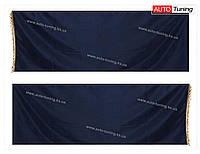 СOMFORT - Комплект ночных штор в кабину грузового автомобиля, 2 шторы 85×250 см, Blue
