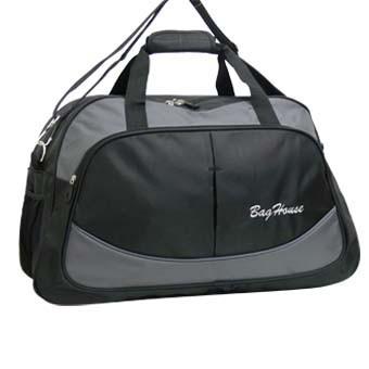 Дорожная сумка BagHouse 64х40х25 Черный (к 6068ч сер)