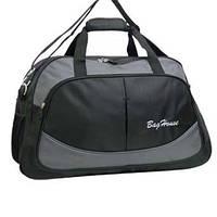 Дорожная сумка BagHouse 64х40х25 Черный (к 6068ч сер), фото 1