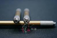 Манипула двухсторонняя для круглых и плоских игл (золотая)