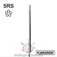 Тату игла KWADRON Round Shader 5 RS (0.35)