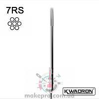Голка Тату KWADRON Round Shader 7 RS (0.35)