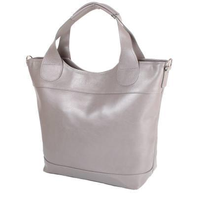 Женская кожаная сумка LASKARA (ЛАСКАРА) LK-DD218-grey