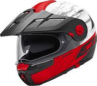 Мотошлем Schuberth E1 Crossfire Red Black White Matt M
