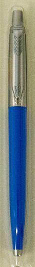 Шариковая ручка Parker Jotter 17 Plastic Blue CT BP блистер 15 136, синий