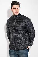 Стеганая куртка-ветровка мужская «Грег» (L, XL | Черная, коричневая)