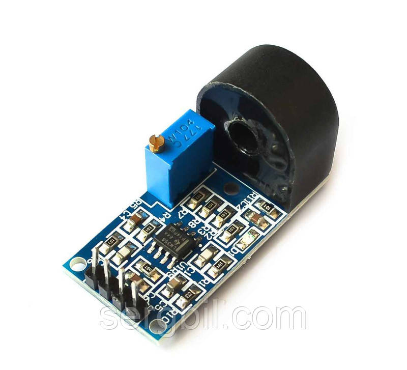 Модуль датчик змінного струму 0-5А з трансформатором струму