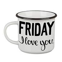Кружка Camper «Friday, I love you» (250 мл)