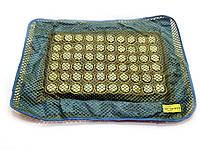 Наволочка на подушку массажная с нефритовыми вставками (50х31х1 см) ЗП-32118