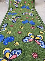 Детский ковролин цветы 4м