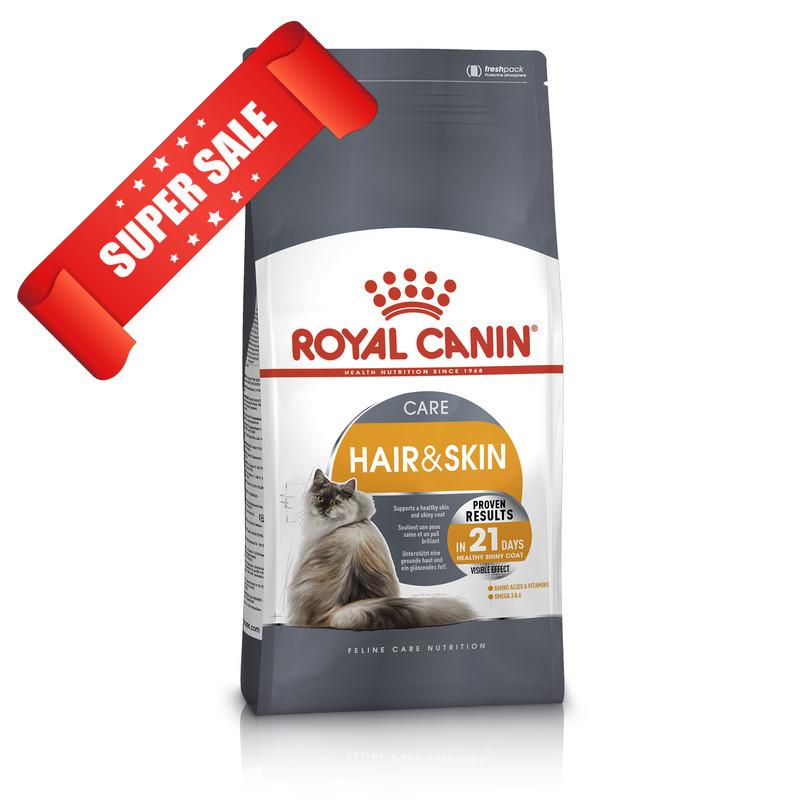 Сухой корм для котов Royal Canin Hair & Skin Care 0,4 кг
