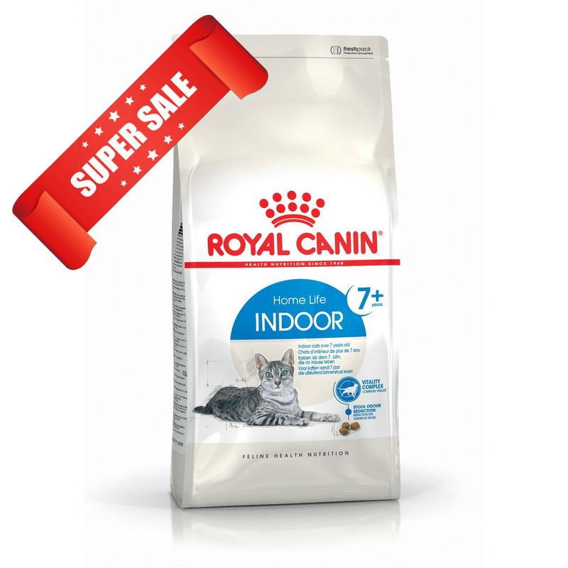 Сухой корм для котов Royal Canin Indoor 7+ 0,4 кг