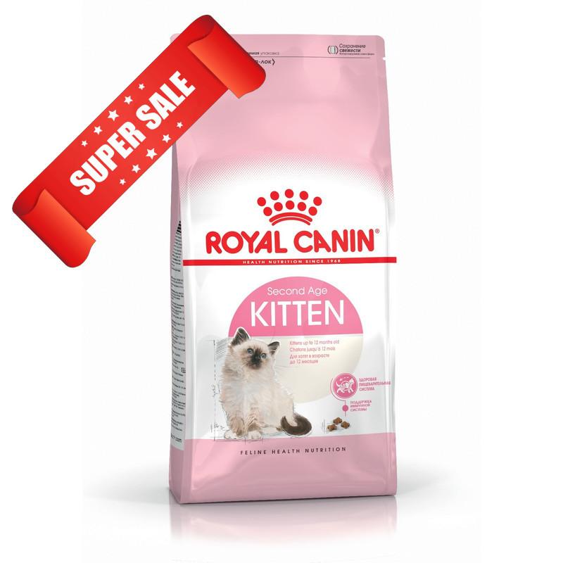 Сухой корм для котов Royal Canin Kitten 4 кг