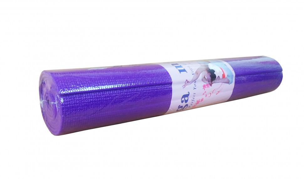 Йогамат MS1847 ПВХ ((Фиолетовый))