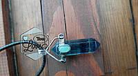 Подвеска-маятник Флюорит со вставкой из авантюрина