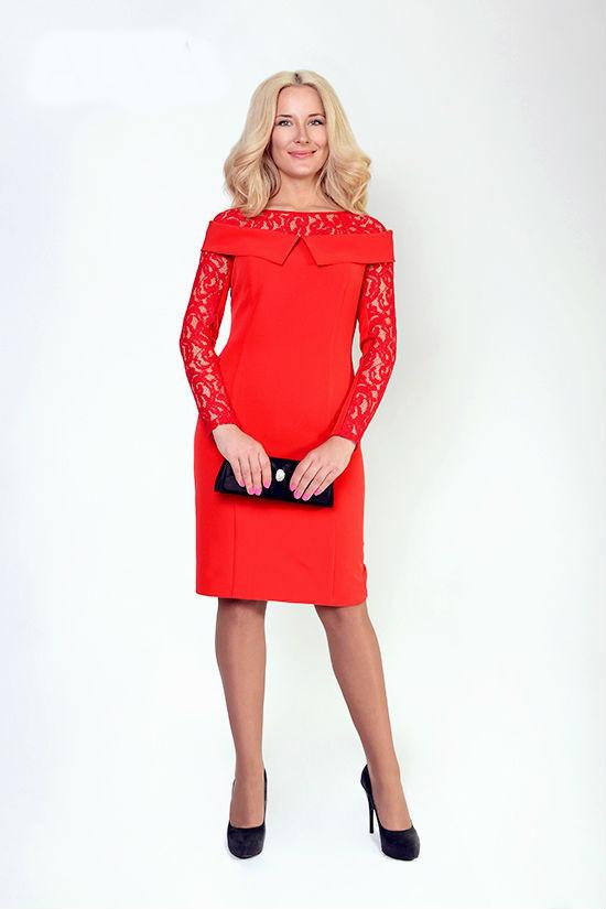 Нарядное женское платье Эвелин, размеры 48,50,52,54