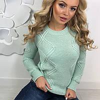 Теплый женский свитер 5 расцветок, фото 1