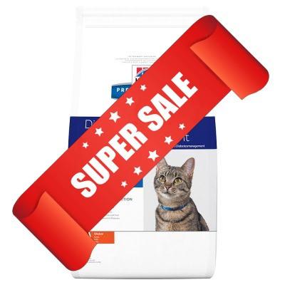 Лечебный сухой корм для котов Hill's Prescription Diet Feline Diabetes/Weight Management m/d 5 кг