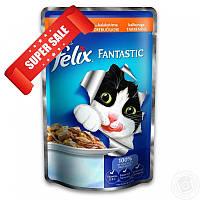 Влажный корм для кошек Purina Felix Fantastic с индюшкой в желе 100 г